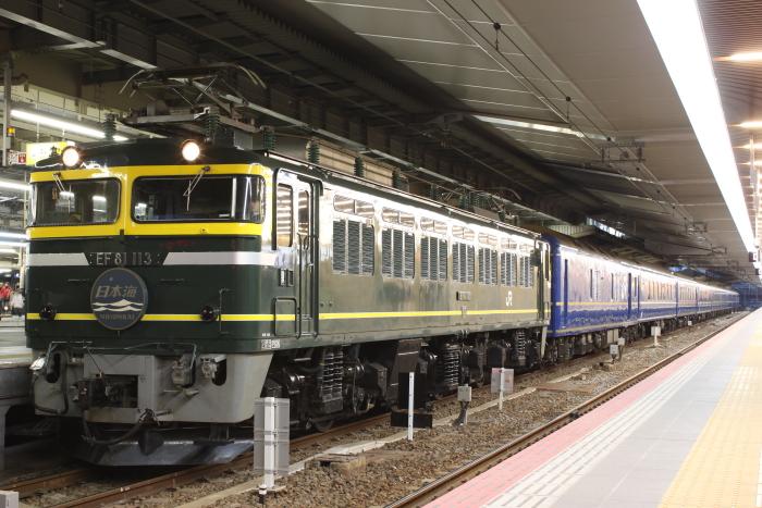 EF81-113の日本海