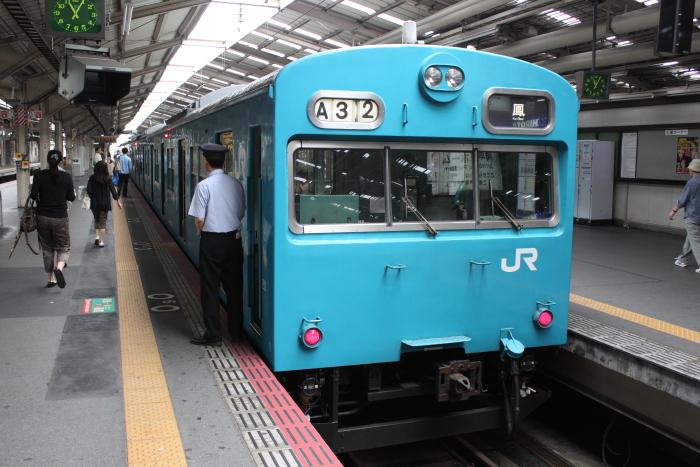 ヒネK614編成(クハ103-96側)