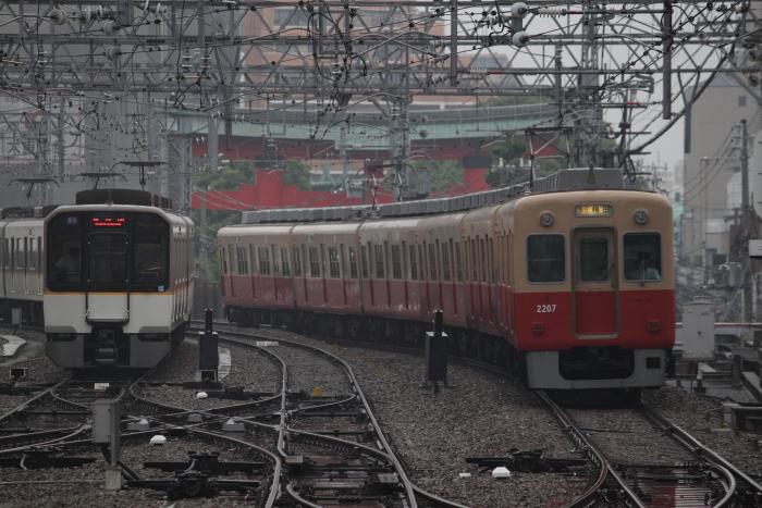 近鉄5820系と2000系