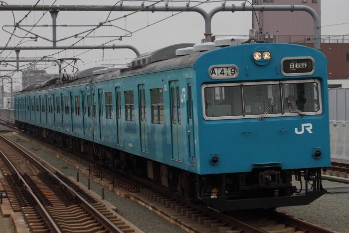ヒネJ411編成(Tc610側)