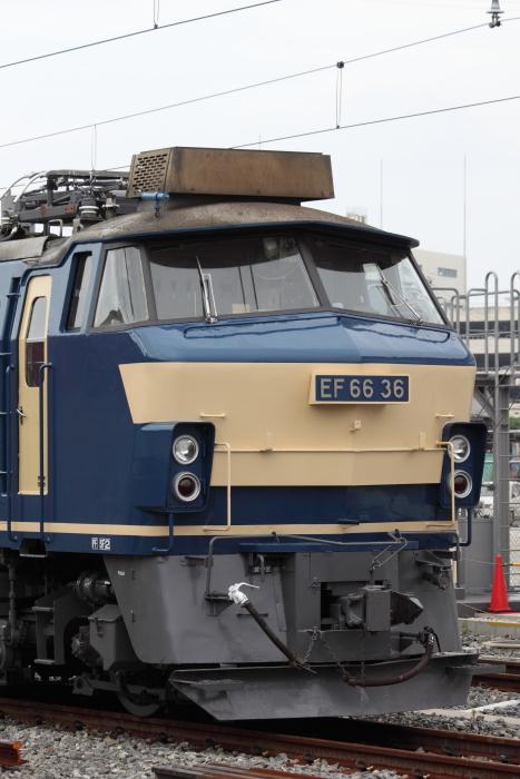 EF66-36のフロントフェイス