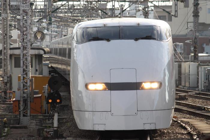 廃車回送されるF5編成(新大阪到着)