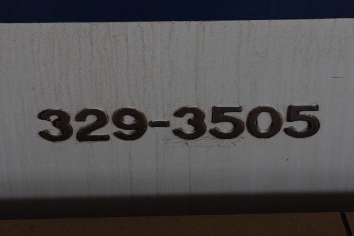 329-3505の側面車番