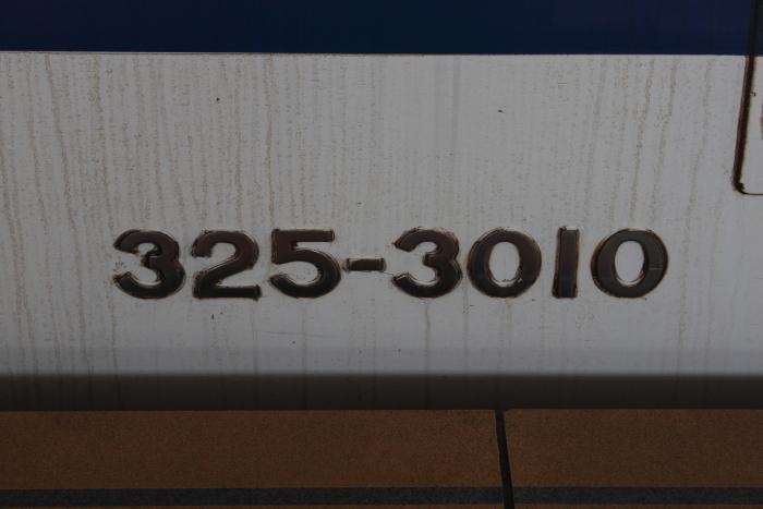 325-3010の側面車番