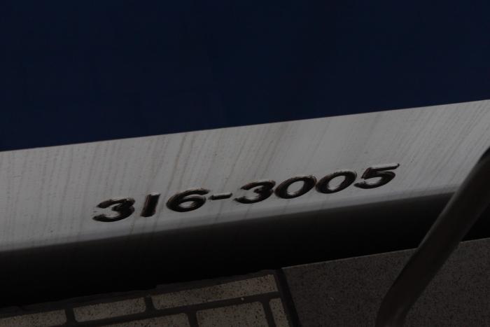 316-3005の側面車番