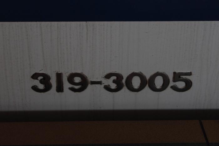 319-3005の側面車番