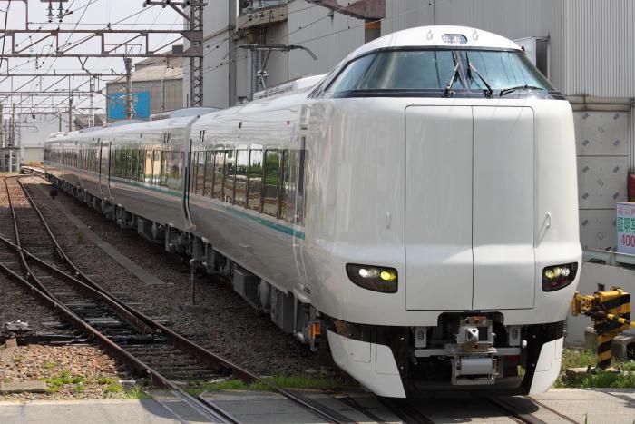 近畿車両から徳庵へ入線する「くろしお」用287系
