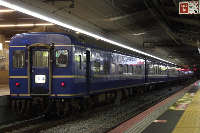 EF81 103(敦)+24系の甲子園臨