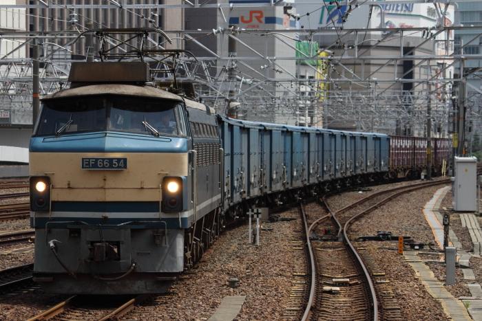 EF66 54(吹)の春日井貨物