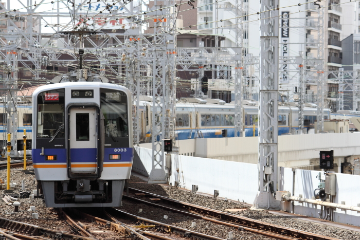 8003F先頭の「サザン13号」(9/18)