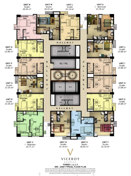 Floor plan Viceroy