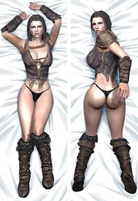 「The Elder Scrolls V: Skyrim」リディア 抱き枕カバー 通常版