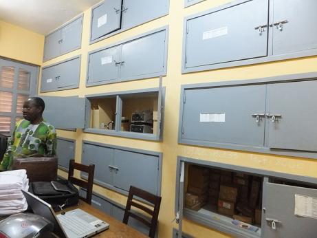 物理化学の実験準備室