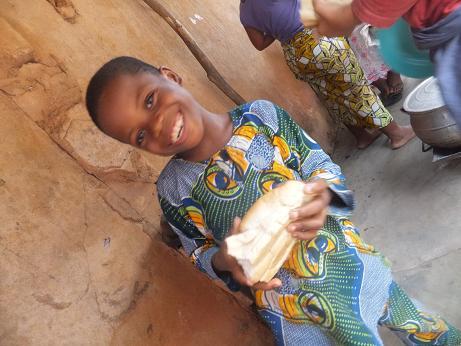 パンを食べる!