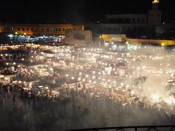 ジャマエルフナ広場