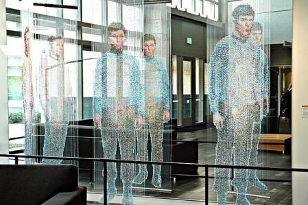 Amazing Star Trek Sculpture At Microsoft_2