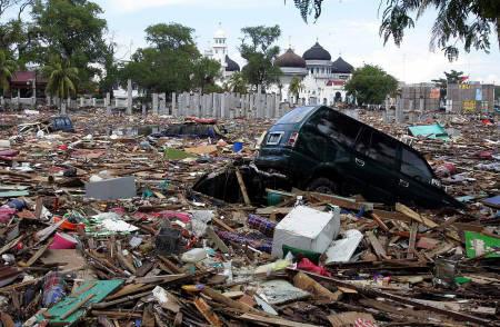 【津波恐怖】インドネシア スマトラ大地震M8.7