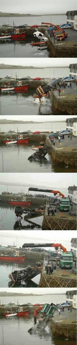 船体引き揚げに伴う二次災害も起こり得る。