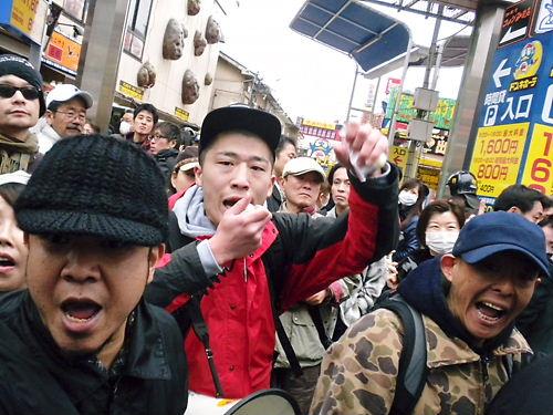 20130331特定アジア粉砕新大久保排害カーニバル!!
