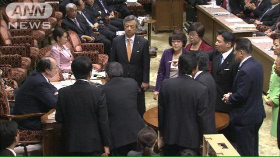 特定秘密保護法案に猛反対する福山哲郎や白真勲らの帰化した在日韓国人の国会議員たち