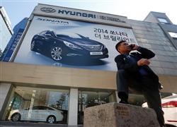 韓国を代表する企業・現代自動車も、日本の部品なしには成り立たない(ロイター)