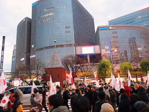 祝!!天長節パレードin銀座20131223