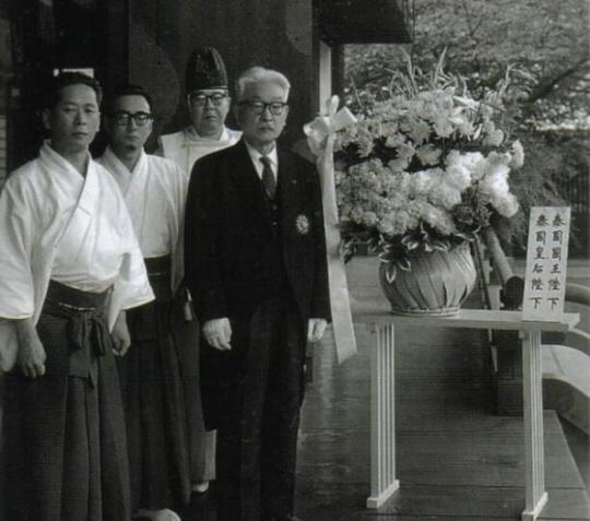 タイのプミポン国王ご夫妻