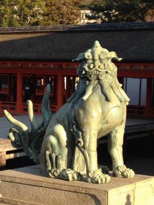 宮島・厳島神社の狛犬