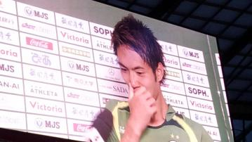 vs 大分トリニータ戦 試合後インタビュー