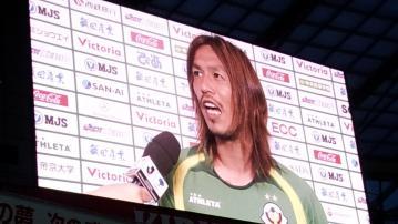 vs 大分トリニータ戦 試合後インタビュー (2)