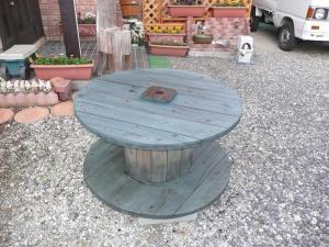 ドラムテーブル塗装