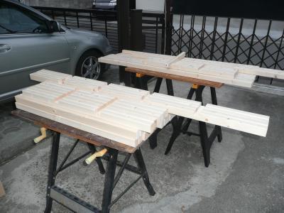 踏板組み手彫り完