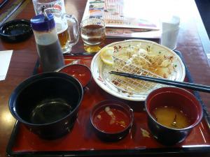 2牡蠣フライ定食