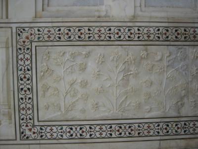 04タージマハールの彫刻