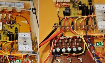 DIY14_12_7 デジ電圧計で測定