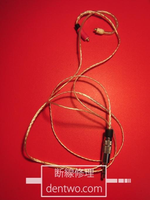 MMCXケーブルのRe:Cable SR1の断線の修理画像です。Nov 29 2014IMG_0154