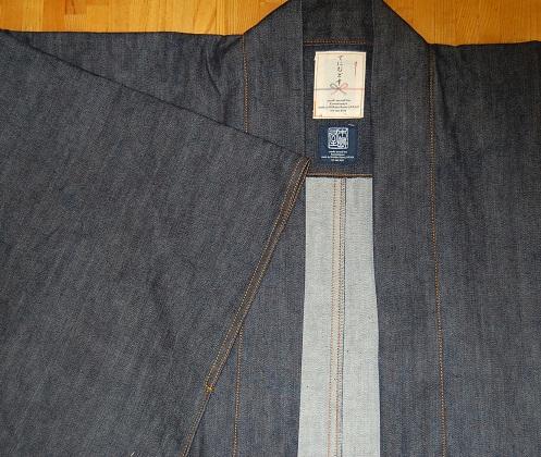 デニム羽織 単衣2