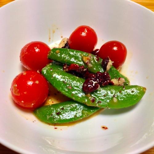 2トマト・いんげん・赤胡桃
