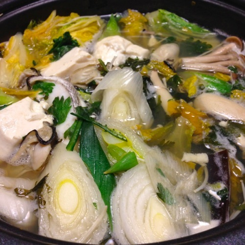 4余り物鍋