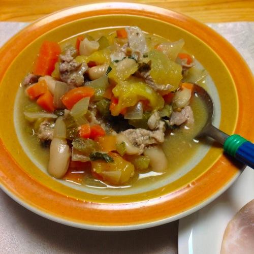6豆スープ