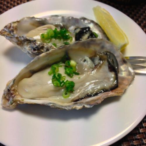 2牡蠣アップ