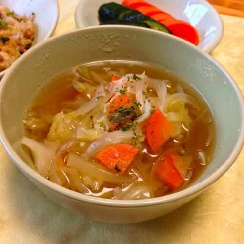 2野菜スープ