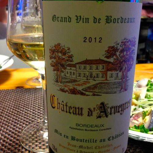 3ボルドーの白ワイン