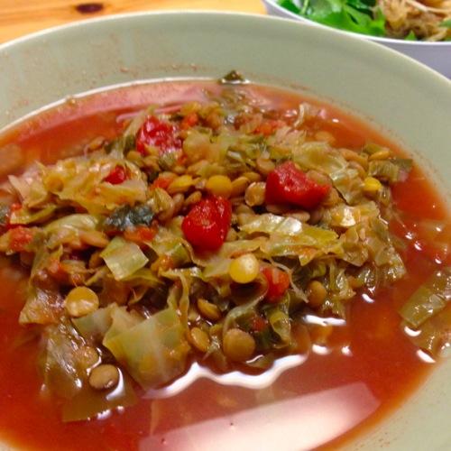 3豆スープ
