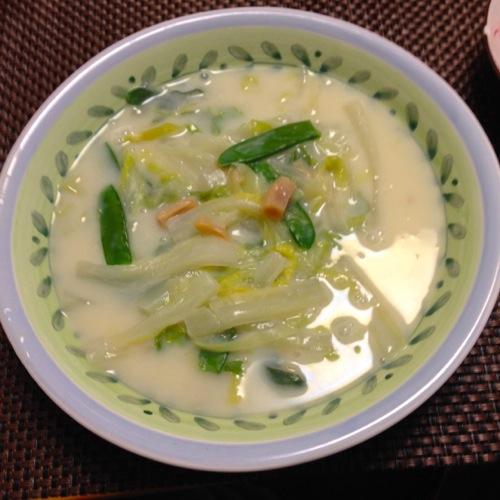 4ホタテの貝柱スープ