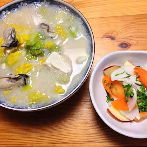 2牡蠣スープセット