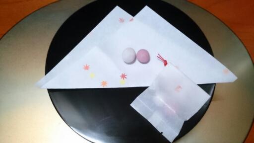 晋山式祝い菓子