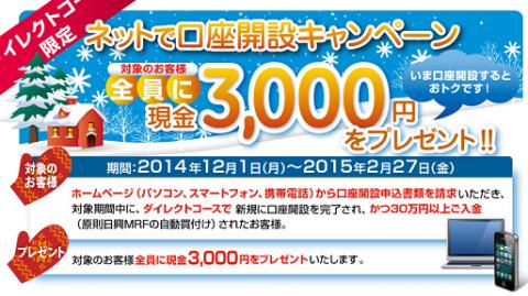 SMBC日興証券 キャンペーン