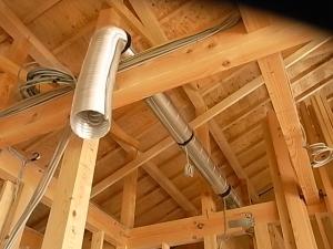 換気扇の管