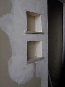 玄関のニッチ